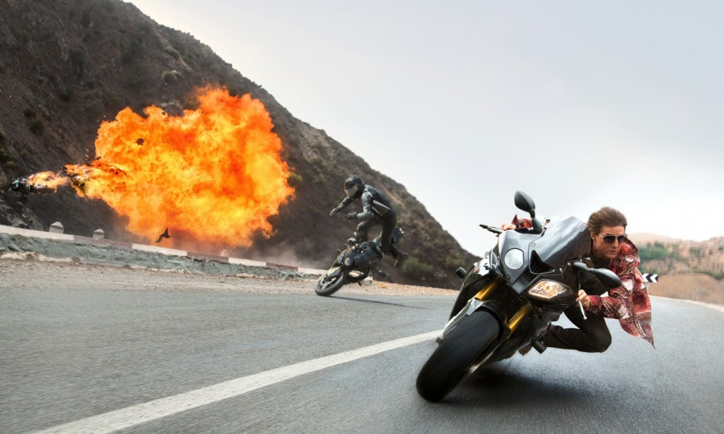 "Tom Cruise stars in Paramount Pictures' ""Mission: Impossible Rogue Nation"""