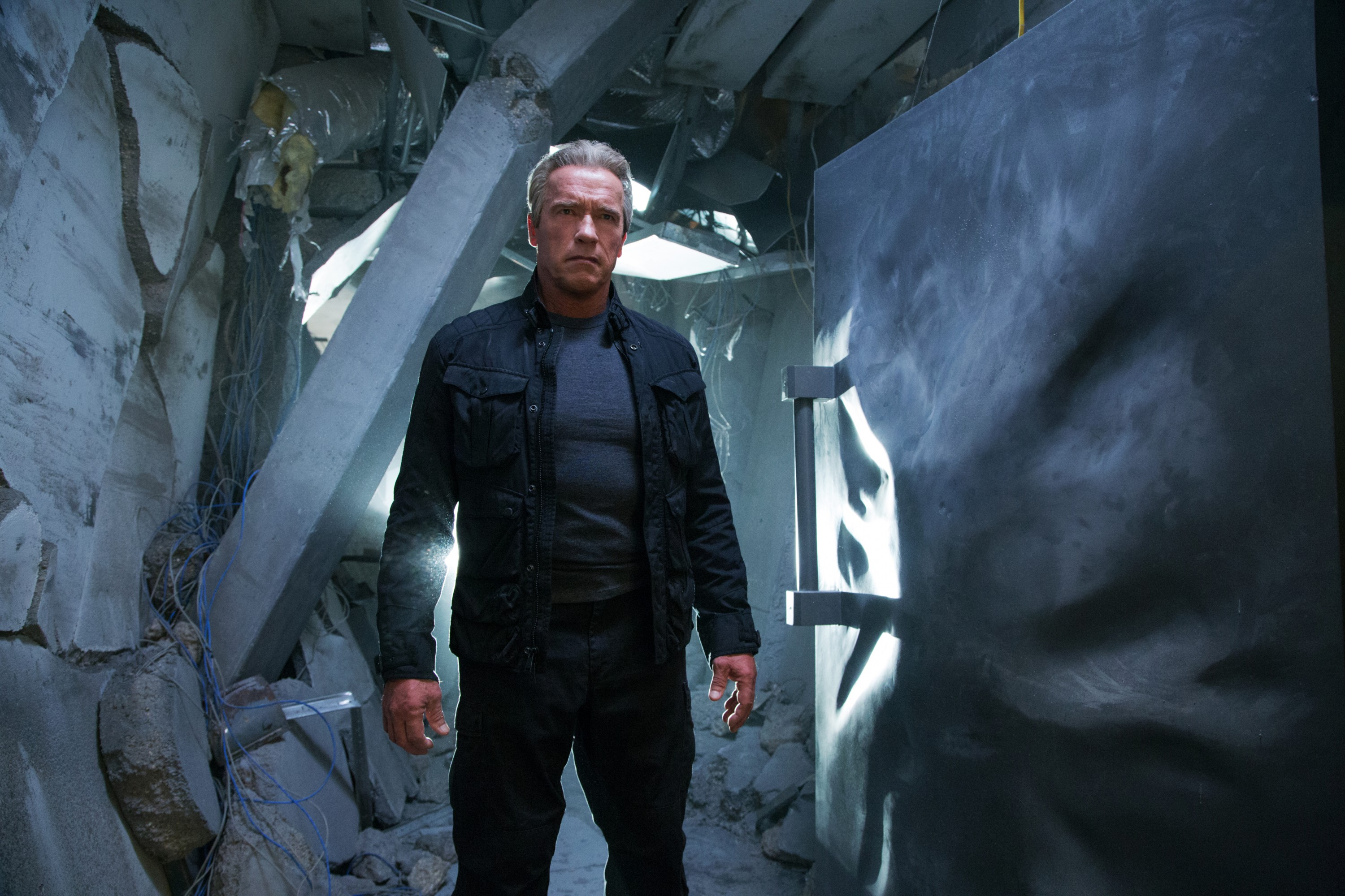 "Arnold Schwarzenegger stars in Paramount Pictures' ""Terminator Genisys"""
