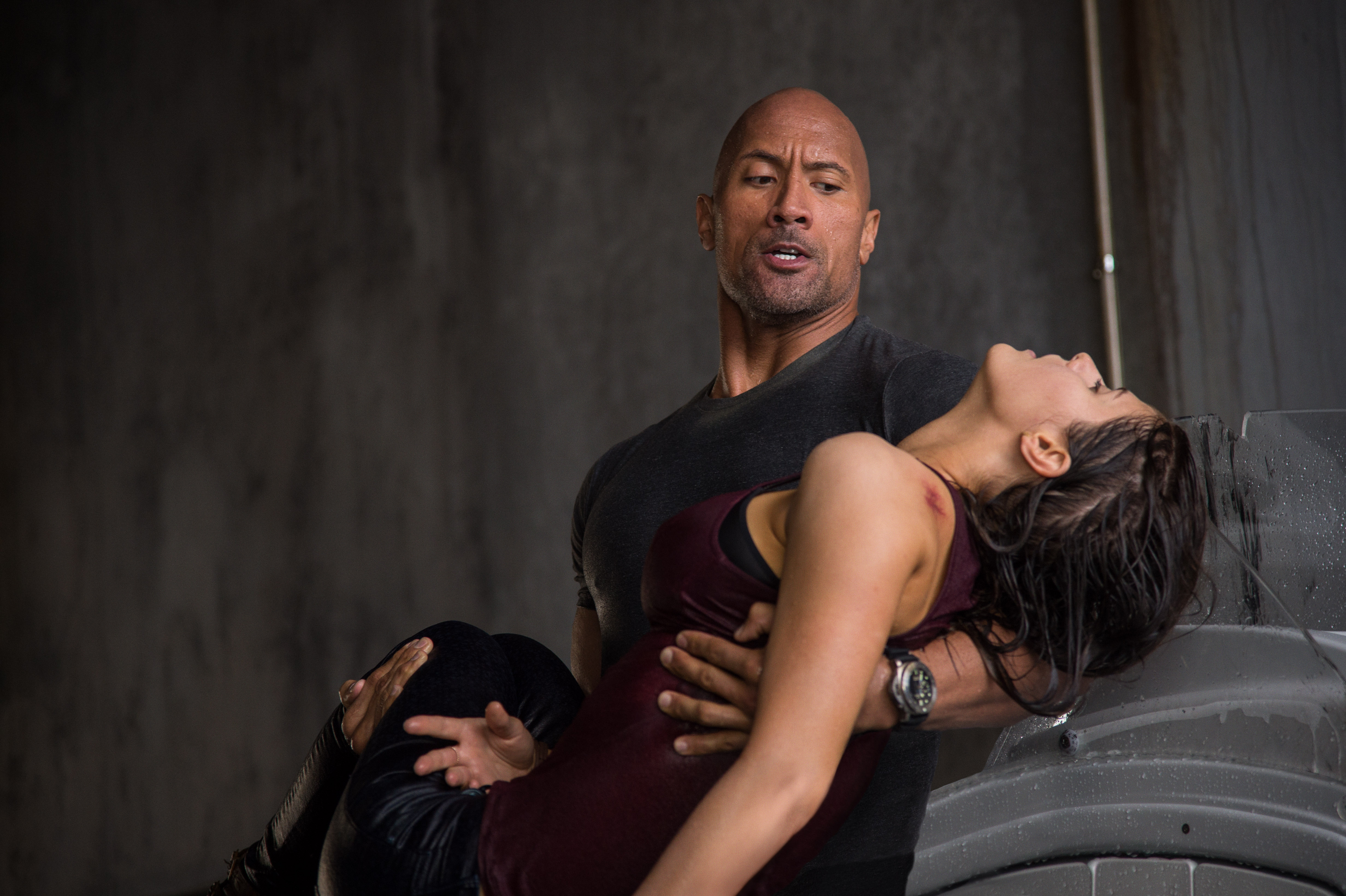 "Dwayne Johnson and Alexandra Daddario star in Warner Bros. Pictures' ""San Andreas"""