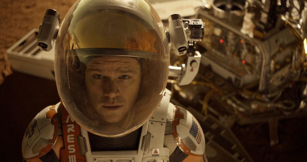 "Matt Damon stars in 20th Century Fox's ""The Martian"""
