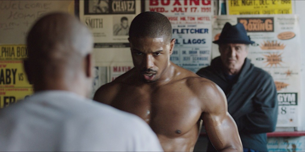 Michael B. Jordan and Sylvester Stallone star in Warner Bros. Pictures' CREED
