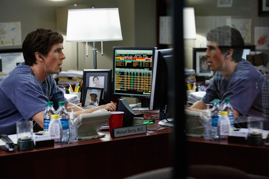 Christian Bale stars in Paramount's THE BIG SHORT