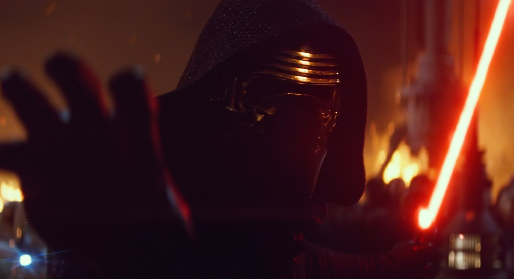 Adam Driver stars in Star Wars: The Force Awakens Lucasfilm