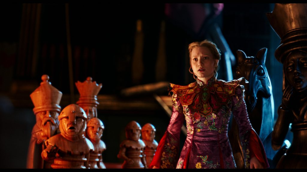 Mia Wasikowska stars in Disney's ALICE THROUGH THE LOOKING GLASS