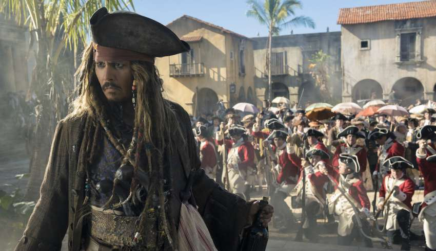 Johnny Depp stars in Disney's PIRATES OF THE CARIBBEAN: DEAD MEN TELL NO TALES