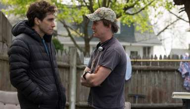 Jake Gyllenhaal and David Gordon Green behind the scenes of Roadside Attractions' STRONGER