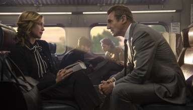 Vera Farmiga and Liam Neeson star in Lionsgate Films' THE COMMUTER