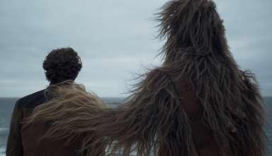 Alden Ehrenreich and Joonas Suotamo star in LucasFilms' SOLO: A STAR WARS STORY