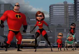 Craig T. Nelson, Holly Hunter, Huck Milner, Sarah Vowell star in Disney*Pixar's INCREDIBLES 2