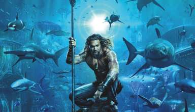 Poster Image of Jason Mamoa in Warner Bros. Pictures' AQUAMAN