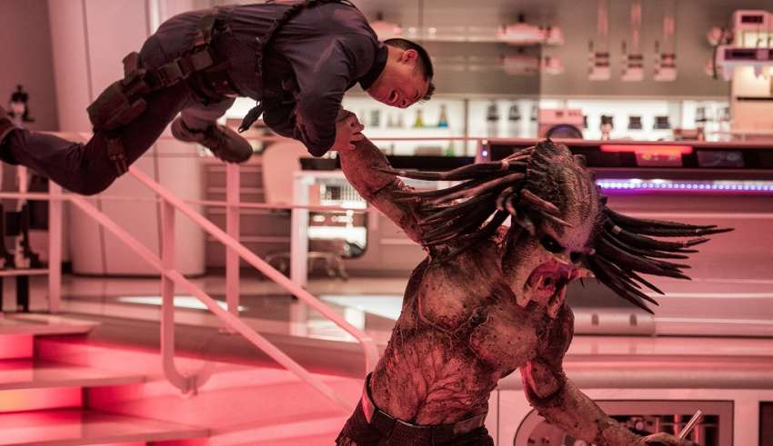 Image from 20th Century Fox's THE PREDATOR
