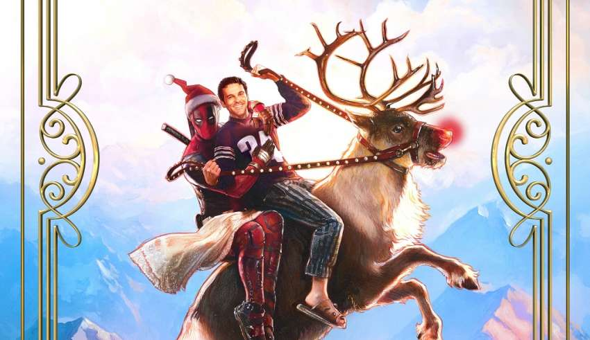 Poster image of 20th Century Fox's ONCE UPON A DEADPOOL