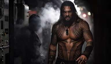 Jason Momoa stars in Warner Bros. Pictures' AQUAMAN