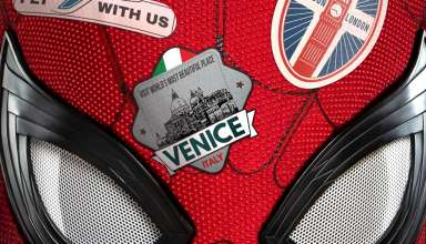 Poster image from Sony Pictures' SPIDER-MAN: FAR FROM HOME