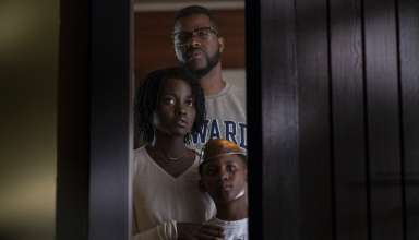 Winston Duke, Lupita Nyong,o and Evan Alex stars in Universal Pictures' US