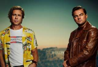 Brad Pitt and Leonardo DiCaprio star in Sony Pictures' ONCE UPON A TIME IN HOLLYWOOD