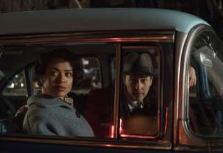 Gugu Mbatha-Raw and Edward Norton star in Warner Bros. Pictures' MOTHERLESS BROOKLYN