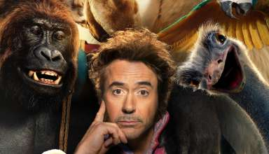 Poster image with Robert Downey Jr. in Universal Pictures' DOLITTLE
