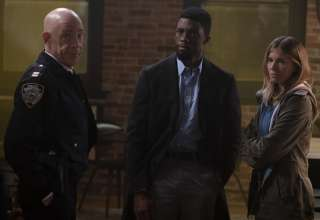 J.K. Simmons, Chadwick Boseman and Sienna Miller star in STX Entertainment's 21 BRIDGES