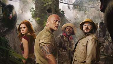Karen Gillan, Dwayne Johnson, Kevin Hart and Jack Black star in Sony Pictures' JUMANJI: THE NEXT LEVEL