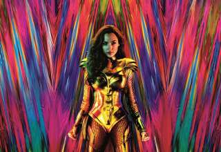 Poster image featuring Gal Gadot n Warner Bros. Pictures' WONDER WOMAN 1984